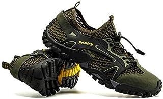 أحذية Upstream - أحذية رياضية شبكية للرجال للاستخدام في الهواء الطلق مقاومة للانزلاق متينة للرحلات ومقاومة للانزلاق أحذية ...