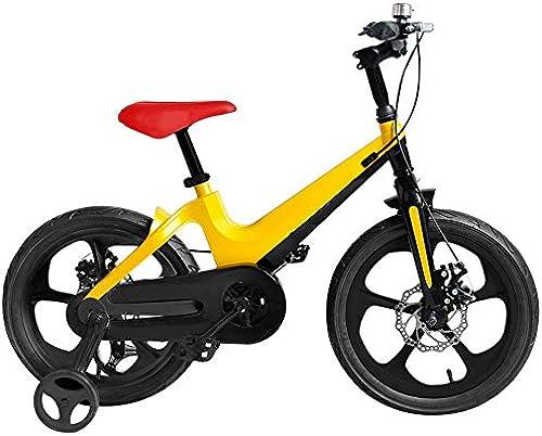 Axdwfd Kinderfürr r 14-Zoll-Kinderfürr r, Rahmen aus Magnesiumlegierungsrahmen für Kinder mit Rad für die Ausbildung des Rades für 3-5 Jahre alte Jungen und mädchen