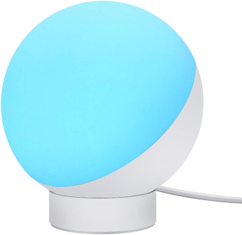 LIXING LED Smart Nachttischlampe, Kinderzimmer Nachtlicht Tragbares, Dimmbar Bis Zu 16 Millionen Farben, Stuerbar Via App