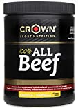 Crown Sport Nutrition 100% All Beef Protein, Informed Sport Supplement Powder, Vanilla Flavour - 200 gr by Crown Sport Nutrition
