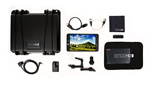SmallHD 702 Limited Edition Black Monitor Kit MON-702-BLACK-KIT1