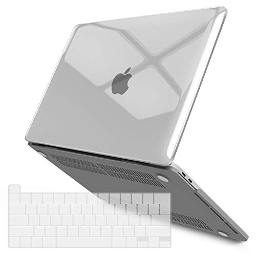 IBENZER New 2020 MacBook Pro 13 Inch Case M1 A2338 A2289 A2251 A2159 A1989 A1706 A1708, Hard Shell Case with Keyboard Cover for Apple Mac Pro 13 Touch...
