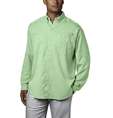 Columbia PFG Tamiami II Camisa de Manga Larga para Hombre, protección Solar UPF 40, Tela Que Absorbe la Humedad, Hombre, 1286064, Cayo Oeste, XX-Large