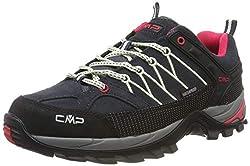 CMP Damen Rigel Low Wmn Shoes Wp Trekking-& Wanderhalbschuhe, Grau (Antracite-Off White 76uc), 40 EU