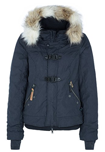 khujo Damen Jacke ASHLEY 1091JK143nav 450 NAVY, L