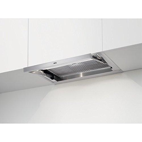 AEG DPE4640M / Dunstabzugshaube-Flachschirm / Edelstahl / 60cm / EEK: B / 942150704