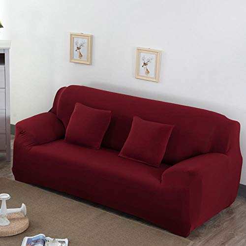 1//2//3//4 Sofabezüge Couch Schonbezug Stretch Elastic Fabric Settee Protector Soft