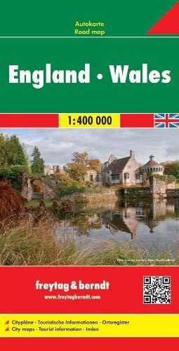 England - Wales, Autokarte 1:400.000: Wegenkaart 1:400 000 (freytag & berndt Auto + Freizeitkarten)