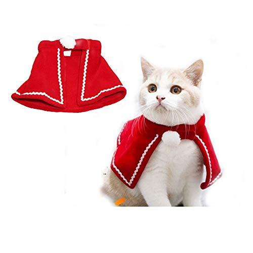 CAFFER - Disfraz de Mascota para Navidad, Disfraz de Gato,...