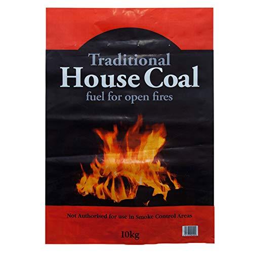 1 x 10 kg CPL Sack Haus Kohle offenes Feuer Camping Herd Kessel einfach zu entzünden