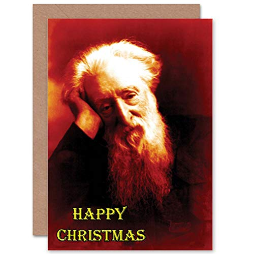Wee Blue Coo CARD ALTERNATIEVE CHRISTMAS XMAS ZAAD OUDE MAN FUNNY