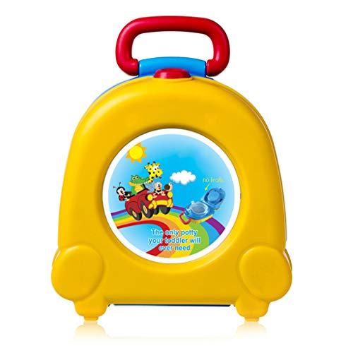 Yanhonin Bébé Toilette Siège De Pot Enfants Petit Toilette, Réutilisable Portable Bébé Voyage Carry Seat Potty, Baby Training Bedpan WC
