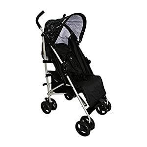 My Babiie MB01 Black Marble Stroller   6