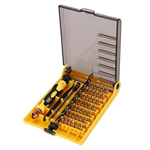 Multifunctionele schroevendraaierset, 45 in 1 Multifunctionele reparatieset voor mobiele telefoons Schroevendraaierset voor mobiele telefoon/tablet
