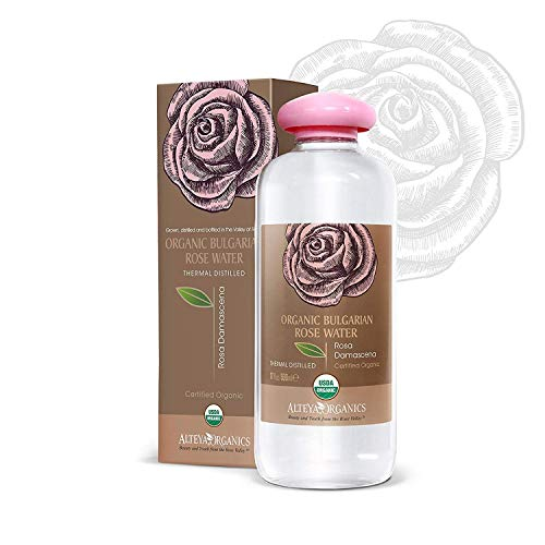 Alteya Organic Bulgarian Rose Water, Extra Large, 17 fl.oz / 500ml - 100% Pure, USDA Certified Organic