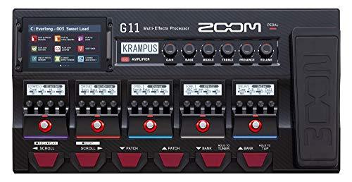 gitarren effekte multieffektgerät zoom g11 effektpedal