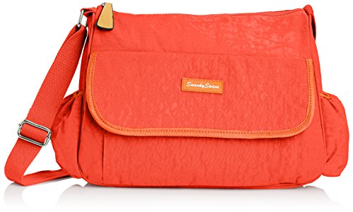 SWANKYSWANS Womens Joseph and Mary Baby Changing S Satchel Orange