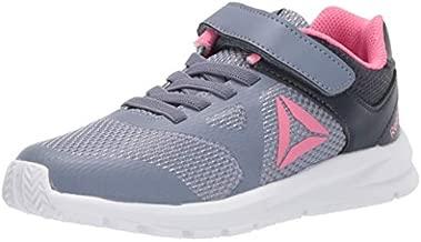 Reebok Girl's Rush Runner Alternate Closure Running Shoe, Indigo/Navy/Pink, 11.5 M US Little Kid