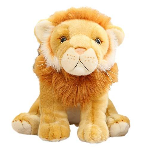wwwl Stofftier 20cm Weiche Gefüllte Puppe König des Löwen Plüschtier Nette Kindergeschenke Für Jungen Kinder