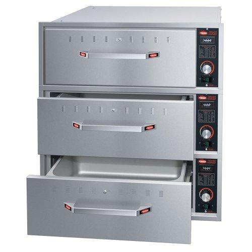 Hatco HDW-3B 240 Built-in Warming 3-Drawer Unit For Standard Pans, 240 V, Each