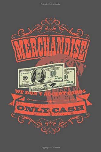 Merchandise | We Don't Accept Cards | Only Cash: Veranstaltungstechniker Geschenk Für Lichttechniker Crew Dina5 Kariert Notizbuch Tagebuch Planer Notizblock Kladde Journal Malheft Strazze