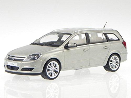 Opel Astra H Caravan silber grau Modellauto Schuco 1:43