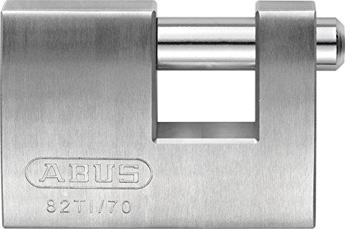 ABUS 24673 82TI/70 Titalium Monobloc Padlock, Silv