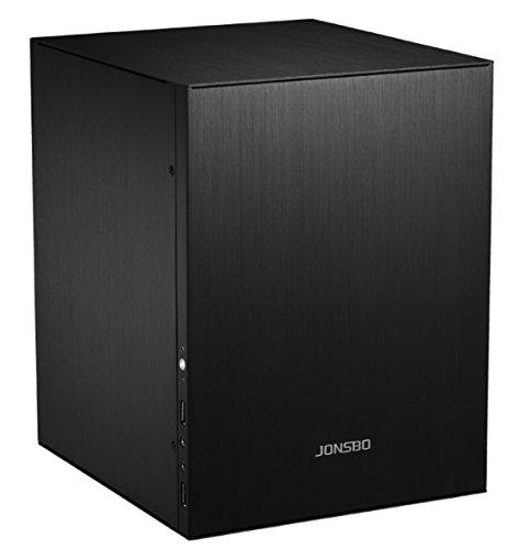 【jonsbo】全体アルミmicro-ATXケース jonsboC2BK (ブラック)