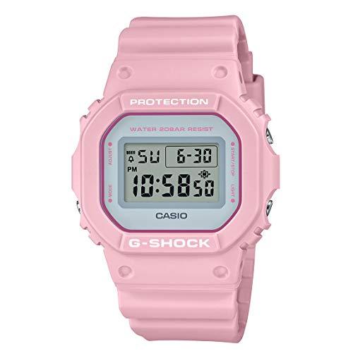 Relógio Casio Feminino G-Shock Soft Colors Rosa DW-5600SC-4DR
