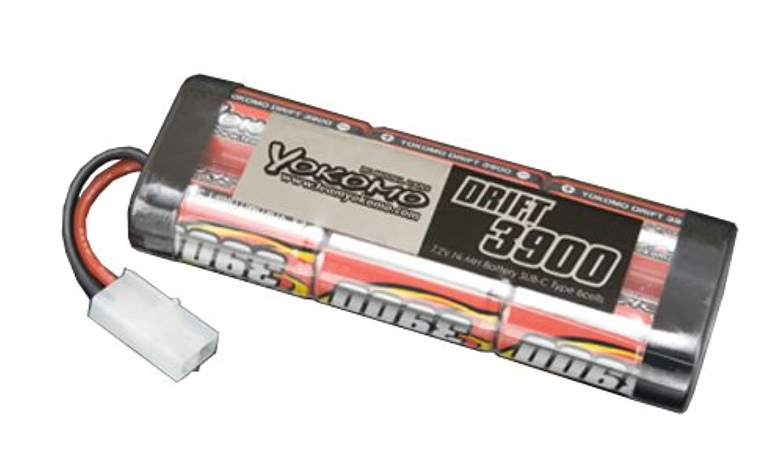 YOKOMO 3900mAh ストレート パックバッテリー YB-S392