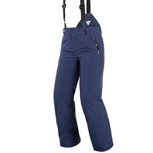DAINESE Scarabeo Pants, Pantaloni da Sci per Bambini e Ragazzi Gioventù Unisex, Black-Iris, 164