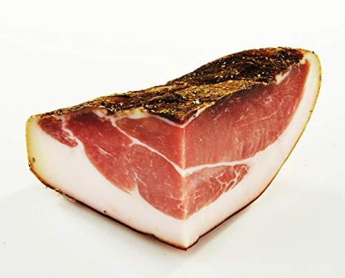 Speck aus Südtirol - 1/4 Hamme 1kg - 6 Monate gereifter Schinkenspeck - Spezialität von Viktor Kofler/Lana