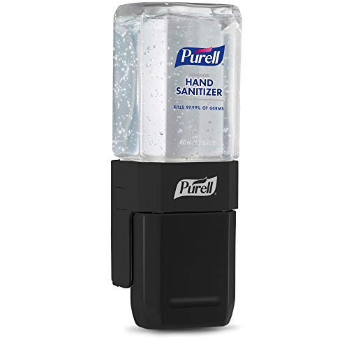 PURELL ES1 Hand Sanitizer Dispenser Starter Kit, Push-Style Dispenser with PURELL Advanced Hand Sanitizer Gel, 450 mL Refill (Pack of 1) - 4424-D6