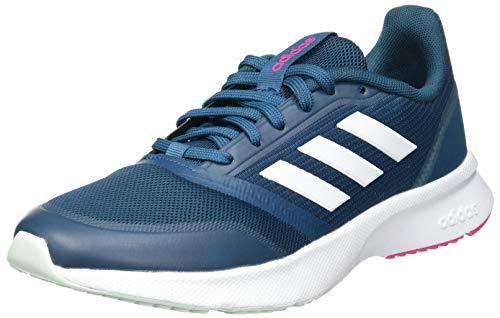adidas Nova Flow, Zapatillas de Running Mujer, Tech Mineral/FTWR White/Shock Pink, 37 1/3 EU