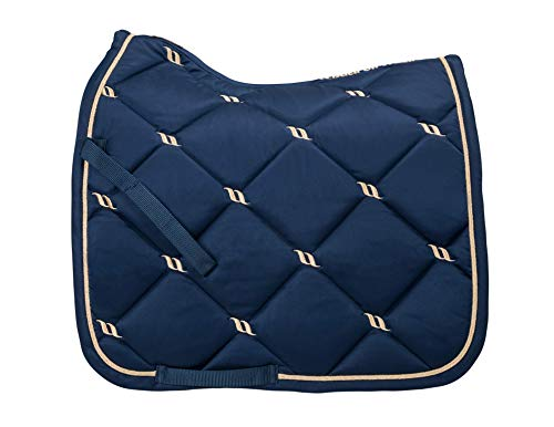 Back on Track® Welltex Nights Collection Saddle Pad Dressage Noble Blue Full