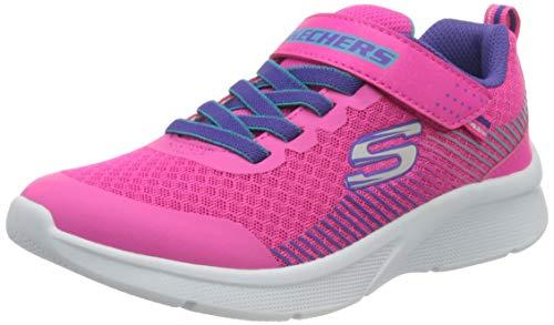 Skechers 302016l-pkpr_32, Scarpe da Ginnastica Basse Bambina, Pink, EU