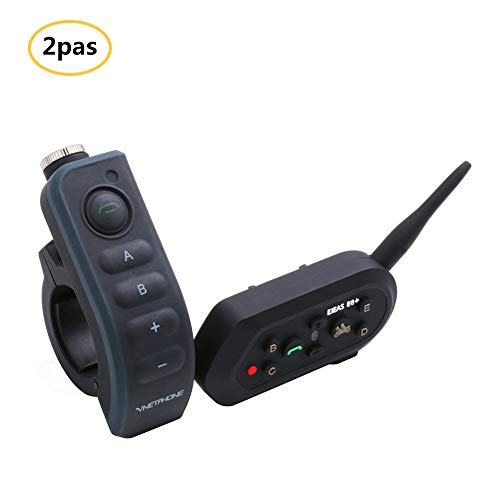 Review Of WYYHAA Motorcycle Bluetooth Headset, E6 Plus Full Duplex 1200 Meter Intercom Systems with ...