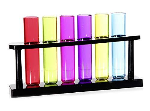 Test Tube Shooters aus Kunststoff,6er Set,Fassun [Import]