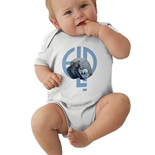 Queen Elena Baby Jungen Mädchen Unisex Strampler Emerson-Lake & Palmer Kleinkind Lovely Jumpsuit Outfit 0-2T Kinder Gr. 2 Jahre, weiß