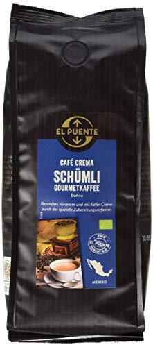 El Puente Schümli Kaffee, Bohne (1 x 500 g)