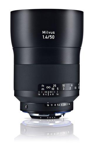 Carl Zeiss Milvus 1.4/50 SLR Obiettivi standard Nero