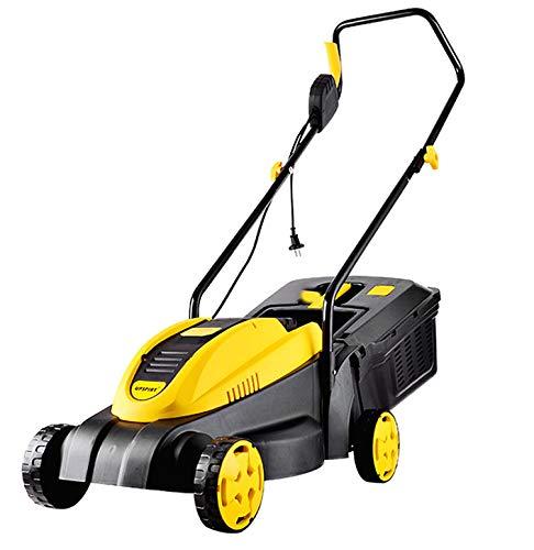 Geluidsarme elektrische grasmaaier, zelfrijdende FWD gasaangedreven grasmaaier met hoge wielen, 3 verstelbare maaihoogtes