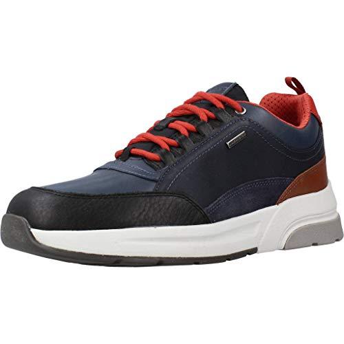Geox Sportschuhe für Herren U947WA 046K4 U ROCKSON C9369 Black Schuhgröße 43