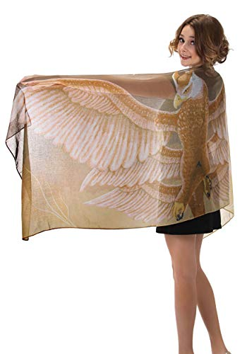Warner Brothers Fantastic Beasts Thunderbird Lightweight Cosplay Costume Scarf for adults and kids
