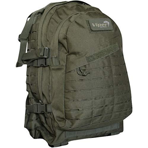 Viper TACTICAL - Sac à Dos Tactique Special Ops - Passants Molle Lazer - 45 litres - Vert