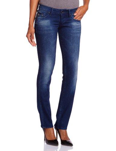 G-STAR RAW Damen Midge Straight Jeans, Blau (dk Aged 5177-89), 29W / 34L