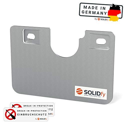 SOLIDfy® - Einbruchschutz Fahrertür Prick Stop Sicherung aus Edelstahl für Ducato, Jumper, Boxer X250 X290
