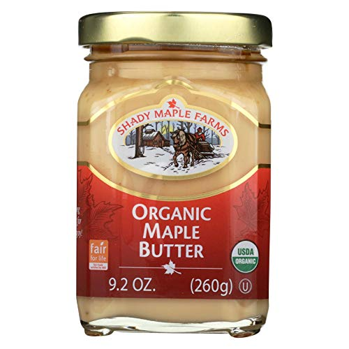 Shady Maple Farms Organic Maple Butter, 9.2 Ounce - 8 per case.8