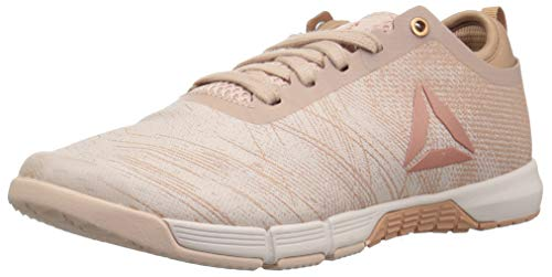 Reebok Women's Speed Her TR Cross Trainer, face-Bare Beige/Bare Brown, 9.5 M US