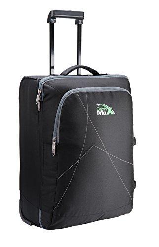 Cabin Max Dortmund sacchetto dei bagagli del carrello mano (Nero)